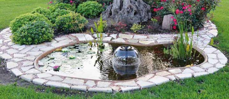 Offerta progettazione laghetto da giardino vicenza for Costruire laghetto da giardino