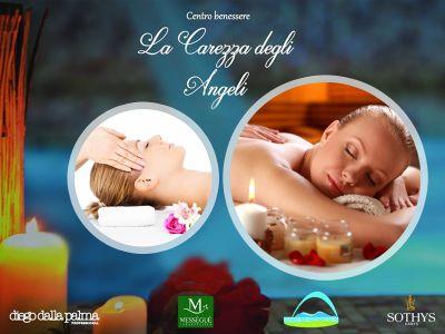 offerta spa massaggi promozione trattamento viso mani piedi la carezza degli angeli