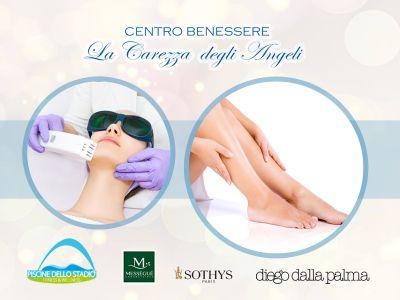 offerta epilazione laser promozione depilazione corpo la carezza degli angeli centro estetico