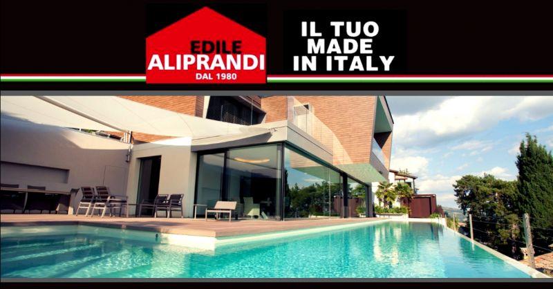 IMPRESA EDILE ALIPRANDI - Promozione progettazione e costruzione di piscine interrate Verona