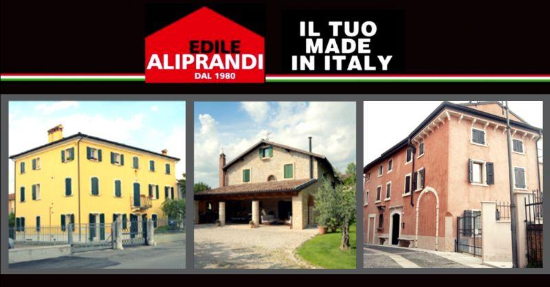 Offerta interventi di sistemazione facciate - occasione rifacimento facciata della casa Verona