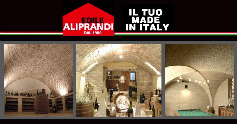 Occasione realizzazione volte in pietra Verona - offerta costruzione volte in mattoni Verona