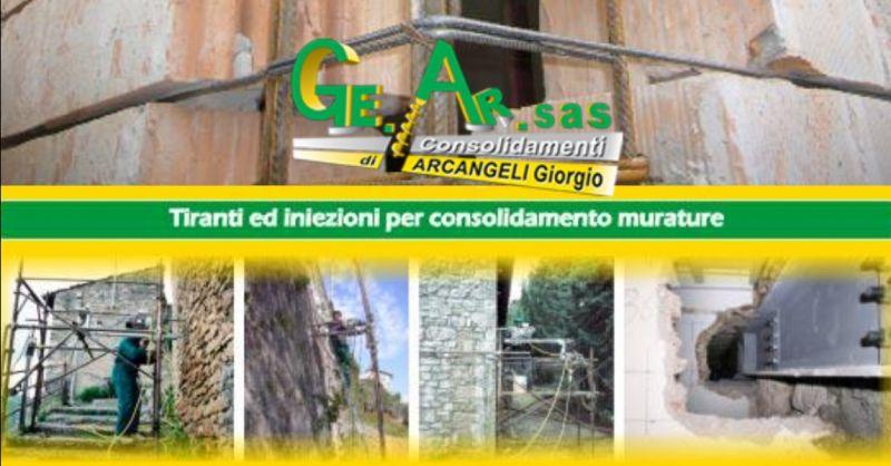 GE.AR.SAS offerta interventi per miglioramento sismico di edifici e strutture Terni