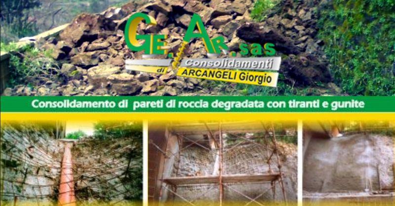 GE.AR.SAS offerta consolidamento di versanti instabili Terni