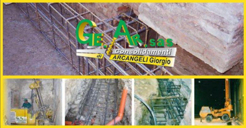 GE.AR. SAS offerta interventi di consolidamento delle fondazioni Terni