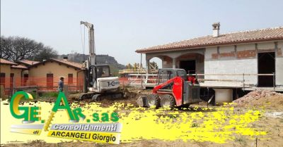 promozione lavori di consolidamento fondazioni offerta specialisti riparazione edifici terni