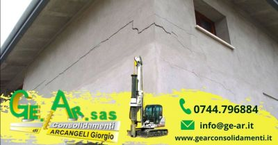 offerta consolidamento murature con tiranti iniezioni terni occasione consolidamento crepe nei muri
