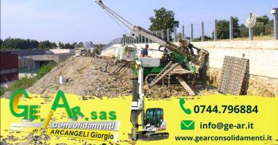 occasione consolidamento murature con iniezioni terni offerta installazione tiranti per murature terni