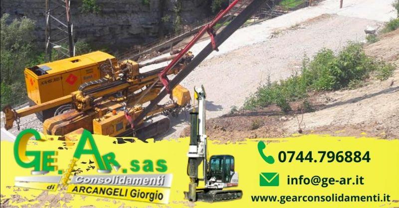 Offerta consolidamento cedimento fondazioni Terni - Occasione riparazione edifici lesionati Terni