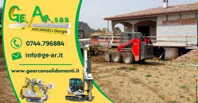 gear sas offerta servizio professionale di consolidamento edifici terreni terni