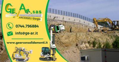 offerta interventi di consolidamento edilizio terni occasione servizio consolidamento terreni