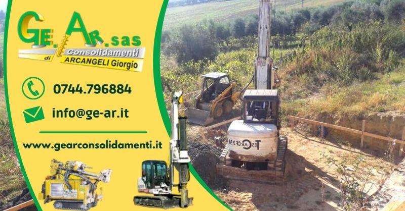 Offerta realizzazione fondamenta con palificazione - Occasione consolidamento fondamenta Terni