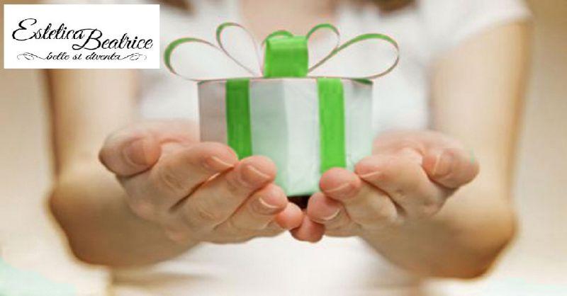 Estetica Beatrice offerta voucher regalo - occasione promozione trattamento viso corpo