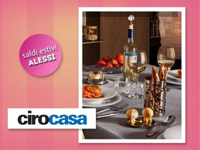 offerta accessori cucina alessi promozione saldi estate alessi cirocasa