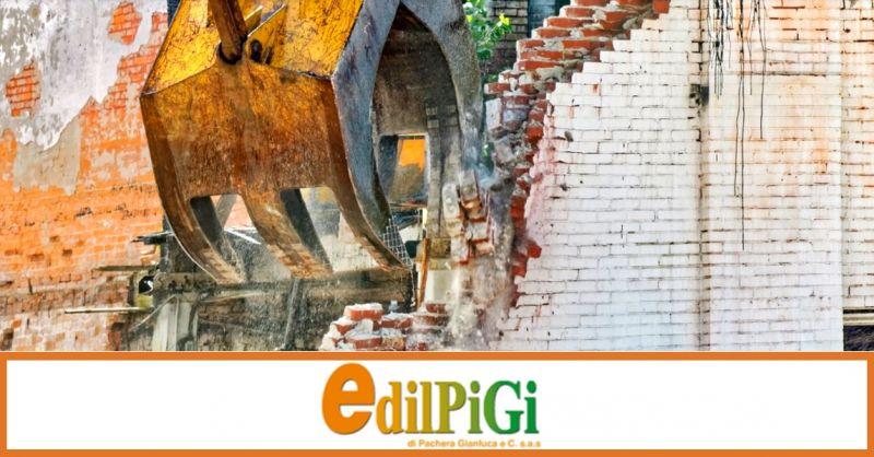Promozione servizio di demolizione edifici - offerta interventi di demolizione edilizia Verona