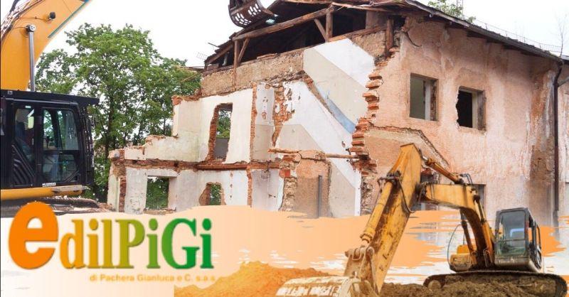 EDILPIGI - Occasione demolizioni edili controllate a Verona - Offerta specialisti nella demolizione di strutture edili