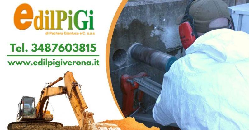 EDILPIGI - Offerta Professionista specializzato in carotaggio cemento armato provincia Verona