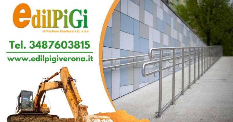 Offerta servizio eliminazione barriere architettoniche - Offerta realizzazione rampe per disabili Verona