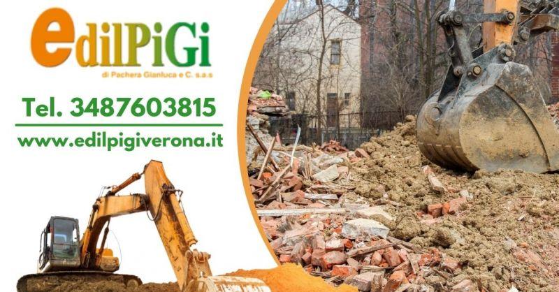 Offerta ditta specializzata in demolizioni incontrollate - Offerta servizio demolizione fabbricati Verona