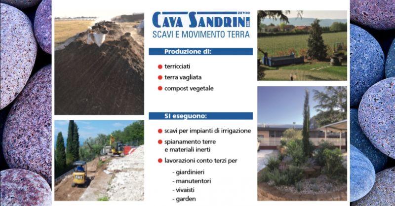 offerta produzione di terra vagliata Verona - occasione interventi di spianamento terra Verona