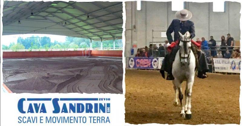 CAVA SANDRINI - Occasione realizzazione e allestimento ring per equitazione Verona