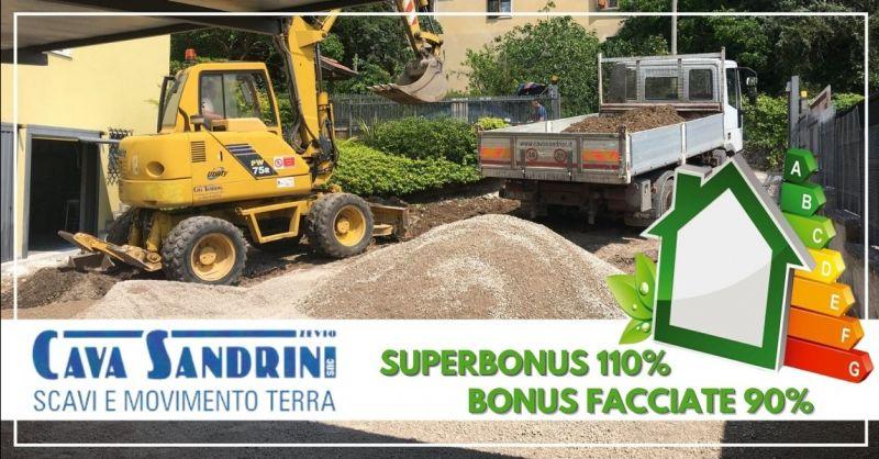 CAVA SANDRINI - Offerta vendita prodotti lapidei bonus 110% bonus facciate 90% provincia Verona