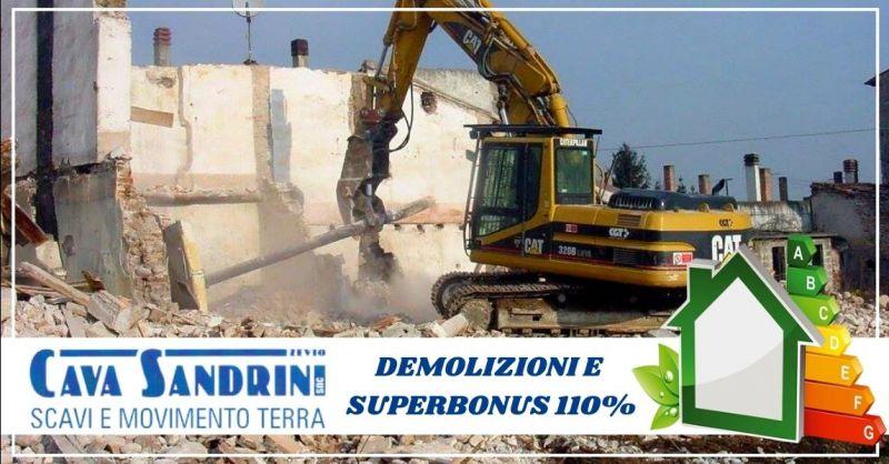 Offerta interventi di ristrutturazione demolizione detrazione superbonus 110% provincia Verona