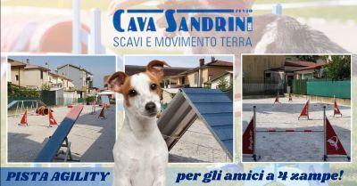 offerta realizzazione pista agility per cani verona occasione sabbie terreni per piste agility provincia verona