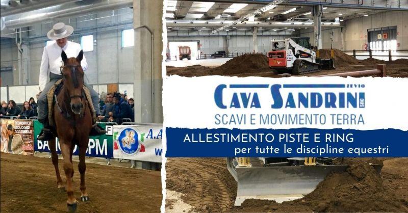 Offerta realizzazione terreno per piste equestri Verona - Occasione allestimento ring cavalli provincia Verona