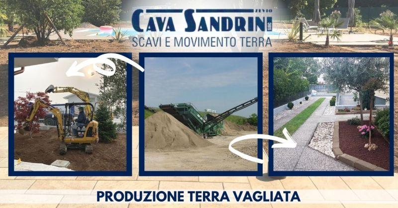 Offerta Produzione terra vagliata di qualità - Occasione Fornitura terra vagliata a domicilio Verona
