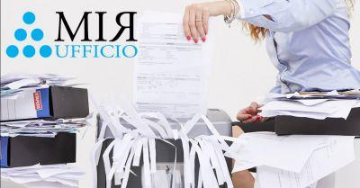 offerta distruggi documenti gdpr occasione protezione dati sensibili archivi cartacei vicenza