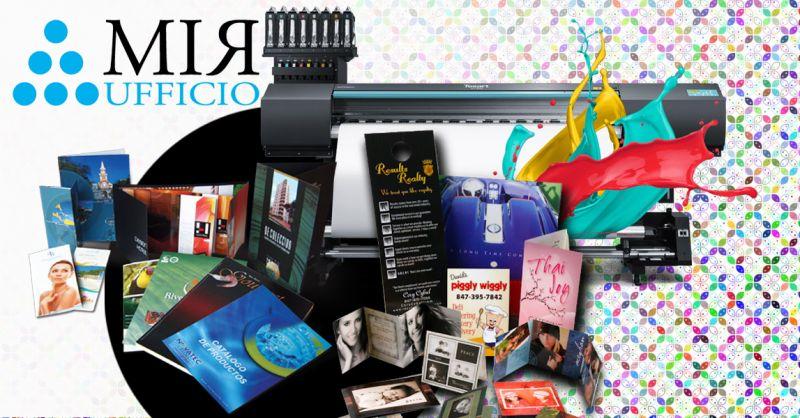 Offerta Centro Stampa professionale brochure e grandi formati - Occasione Servizio Rilegatura Tesi Vicenza
