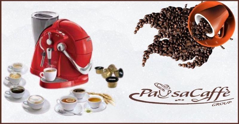 PAUSACAFFE GRUOP - occasione macchine da caffè con cialde capsule delle migliori marche