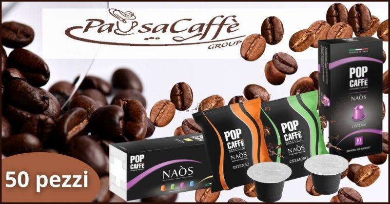 PAUSACAFFE GROUP - offerta pop caffe compatibile Nespresso