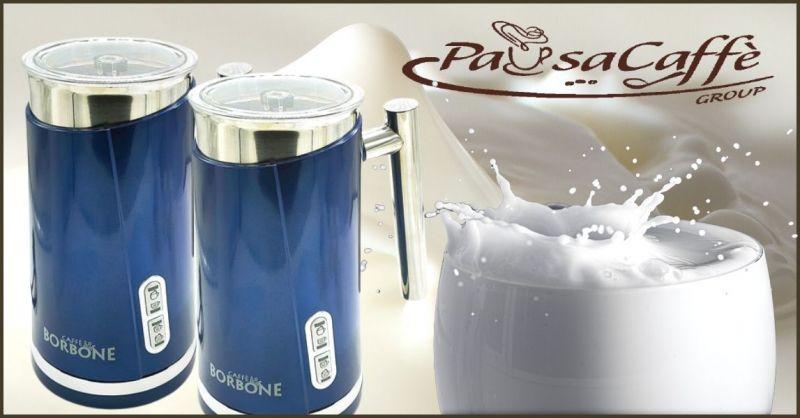 promozione Cappuccinatore e montalatte elettrico Caffe Borbone - PAUSACAFFE GROUP