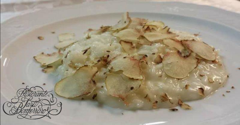 RISTORANTE SARTI offerta specialita al tartufo bianco - occasione dolci di produzione propria