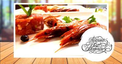 offerta ristorante con vini del territorio mantova occasione specialita pesce di mare mantova
