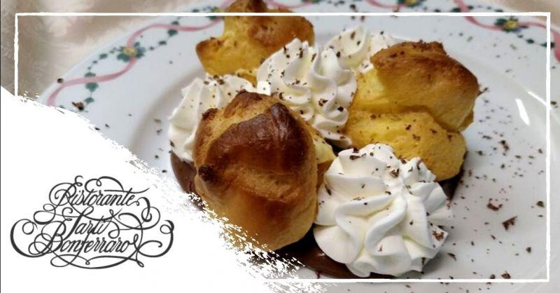 Offerta ristorante con dolci fatti in casa Mantova - Occasione specialità dolci artigianali Mantova