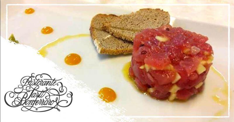 Promozione ristorante specialità tartare di pesce Verona - Occasione dove mangiare le migliori tartare