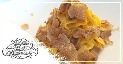 offerta ristorante con specialita tartufo bianco occasione dove mangiare tartufo bianco verona