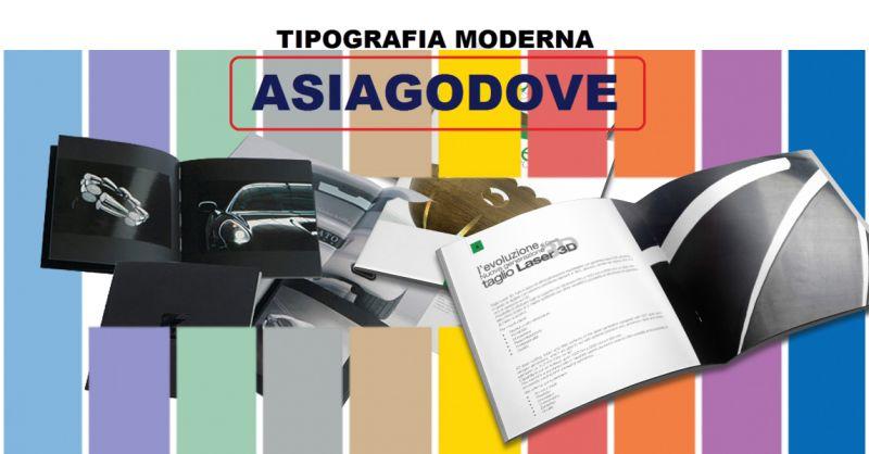 Offerta Stampa depliant e pieghevoli Asiago - Promozione Stampa depliant low cost Vicenza