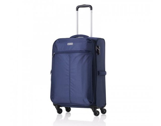 Offerta - Trolley Jaguar Swing valigia grande blu