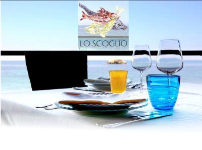 promozione mangiare vista mare offerta ristorante di pesce lo scoglio