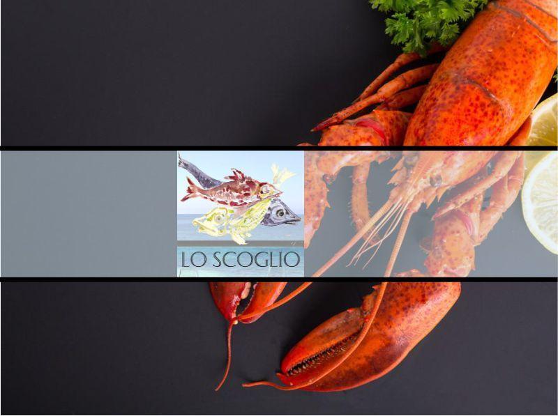 promozione menu' di pesce  - offerta astice Cagliari - Lo Scoglio