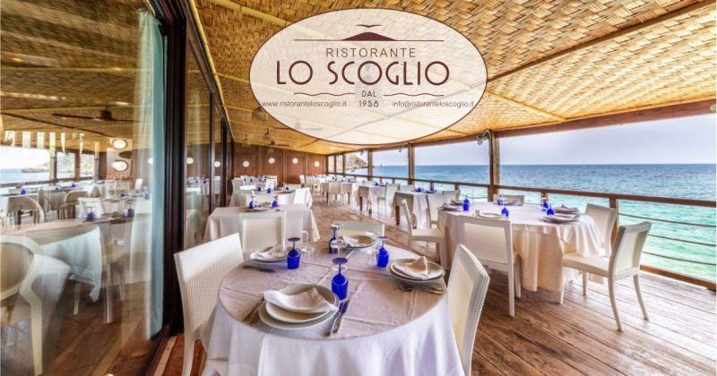 Lo Scoglio - offerta ristorante  location esclusiva sul mare ricevimento matrimonio