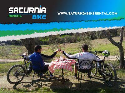 offerta noleggio bici escursioni promozione escursioni bici maremma saturnia bike rental