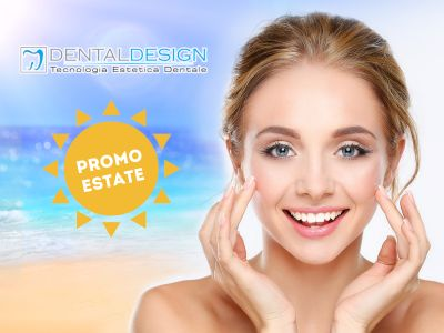 offerta sbiancamento dentale promozione pulizia dentale dental design roma