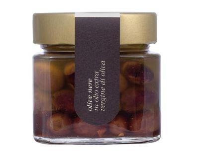 offerta olive nere in olio di oliva