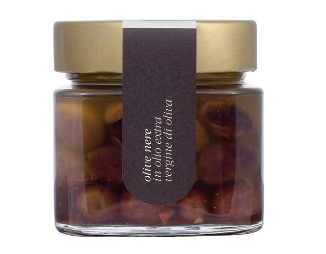 Offerta - Olive nere in olio di oliva