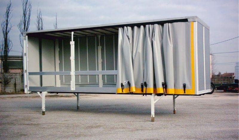 Offerta allestimento veicoli industriali-Promozione allestimento cassoni camion Oppeano Verona